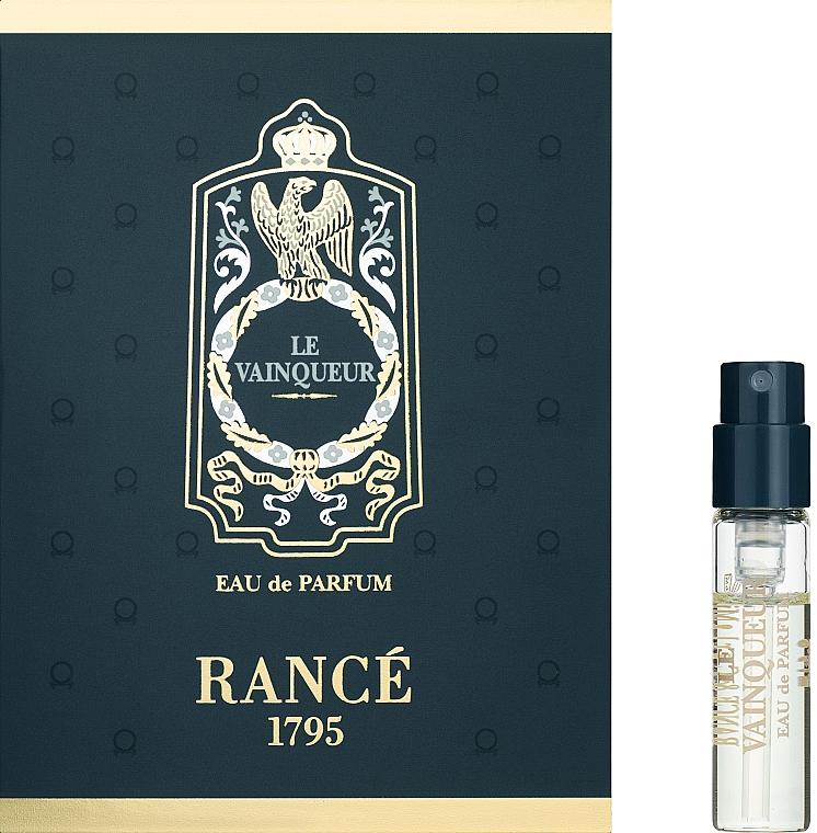 Rance 1795 Le Vainqueur - Парфумована вода (пробник) — фото N1