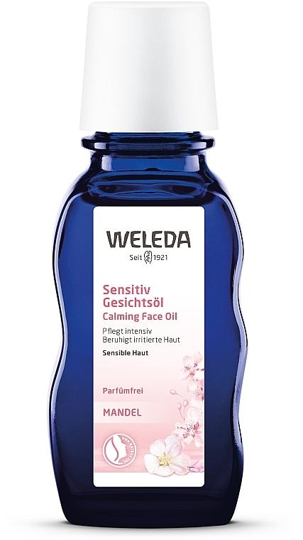 Миндальное масло для лица - Weleda Mandel GesichtsOl
