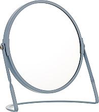 Духи, Парфюмерия, косметика Зеркало на подставке, голубое - Spirella Akira Blue