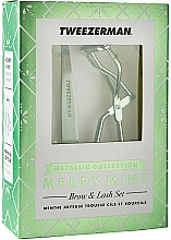 Духи, Парфюмерия, косметика Набор для бровей и ресниц - Tweezerman Merry Mint Brow & Lash Set