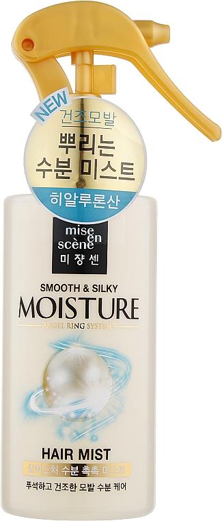 Увлажняющий мист для волос - Mise en Scene Pearl Smooth & Silky Moisture Hair Mist