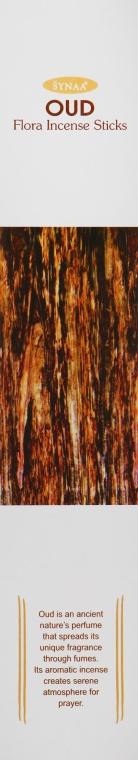 Ароматические палочки Агарвуд - Synaa Flora Incense Sticks Oud