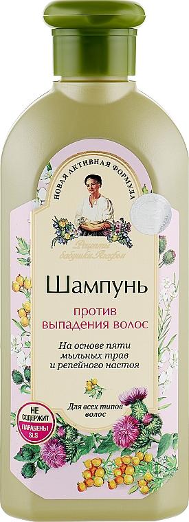 Шампунь против выпадения волос - Рецепты бабушки Агафьи