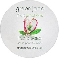 """Духи, Парфюмерия, косметика Мыло для рук """"Питайя-Белый чай"""" - Greenland Fruit-emotions Hand Soap Dragon Fruit-White Tea"""