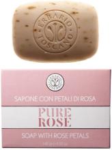 Духи, Парфюмерия, косметика Мыло с лепестками роз - Erbario Toscano Pure Rose Soap With Rose Petals