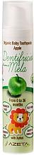 """Духи, Парфюмерия, косметика Детская зубная паста """"Яблоко"""" - Azeta Bio Organic Baby Toothpaste Apple"""