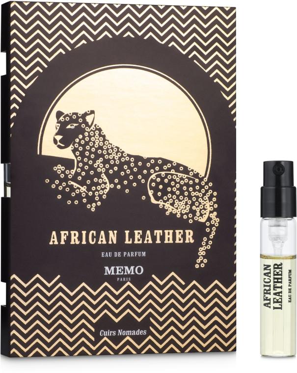 Memo African Leather - Парфюмированная вода (пробник)