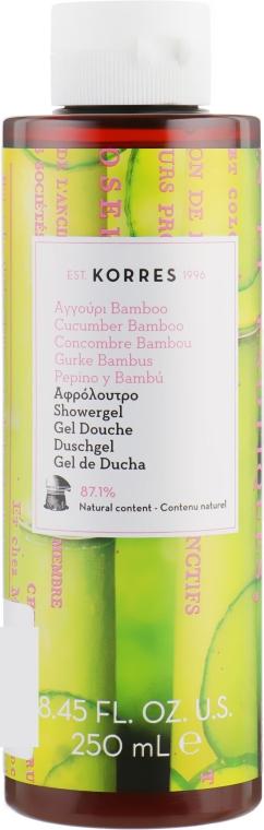 "Гель для душа ""Огурец и Бамбук"" - Korres Cucumber And Bamboo Shower Gel"