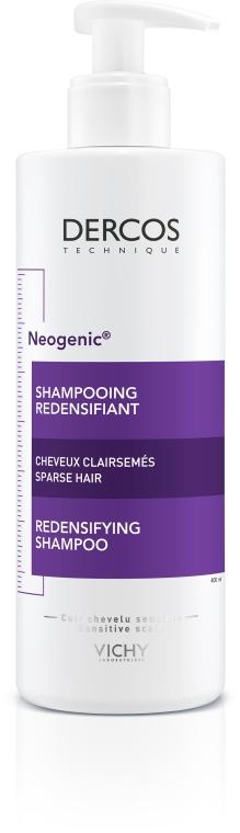 Укрепляющий шампунь для повышения густоты волос со Стемоксидином - Vichy Dercos Neogenic Redensifying Shampoo — фото N7