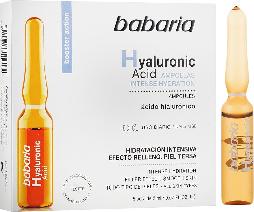 Ампула с гиалуроновой кислотой - Babaria Hyaluronic Acid Ampoule
