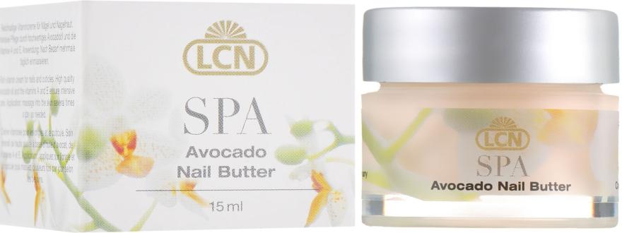 Увлажняющий крем для ногтей с витаминами и авокадо - LCN SPA Avocado Nail Butter