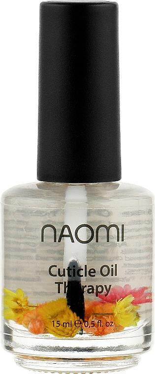 """Цветочное масло для кутикулы """"Апельсин"""" - Naomi Cuticle Oil"""
