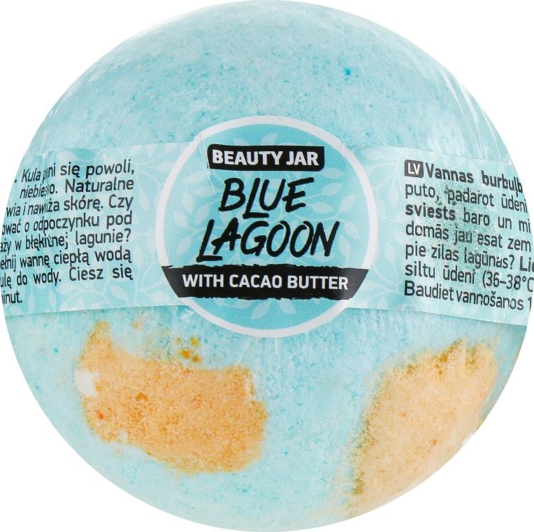 "Бомбочка для ванны ""Blue Lagoon"" - Beauty Jar Relax Natural Bath Bomb"