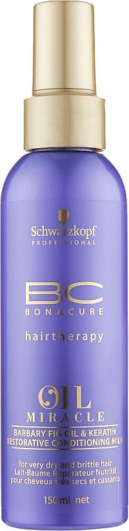 Восстанавливающее кондиционирующее молочко с маслом и кератином - Schwarzkopf Professional Bonacure Oil & Micro Keratin Milk