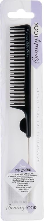 Расческа для стрижки с металлическим кончиком - Beauty Look