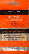 Духи, Парфюмерия, косметика Восстанавливающая маска для волос - Perfect.Me Repair & Colour Save Mask (мини)