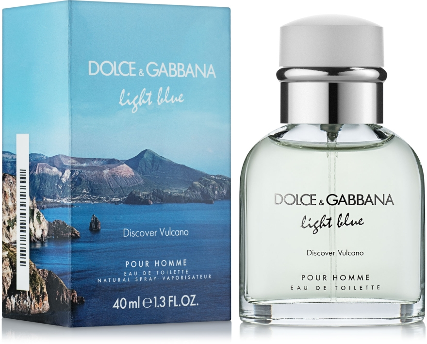 D&G Light Blue Discover Vulcano - Туалетна вода (тестер з кришечкою) — фото N4