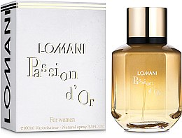 Духи, Парфюмерия, косметика Lomani Passion D`or For Women - Парфюмированная вода