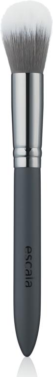 Синтетическая кисть для нанесения тона, теневой коррекции, румян и хайлайтера - Muba Factory Brush Escala R803