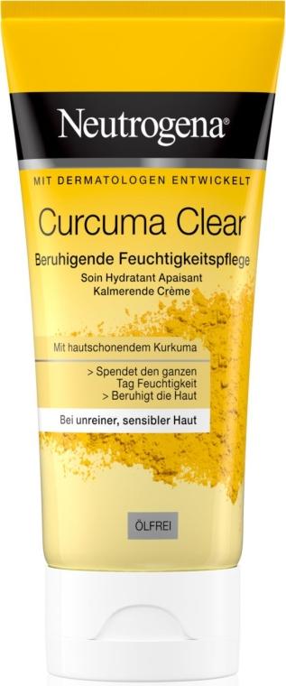Легкий увлажняющий крем с экстрактом куркумы - Neutrogena Curcuma Clear Cream