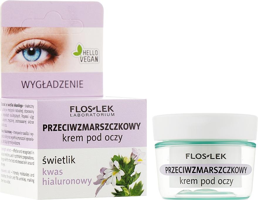 Крем против морщин для глаз с гиалуроновой кислотой - Floslek