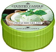 "Духи, Парфюмерия, косметика Чайная свеча ""Фисташковое мороженое"" - Country Candle Pistachio Gelato Daylight"