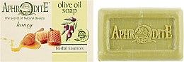 Духи, Парфюмерия, косметика Оливковое мыло с медом - Aphrodite Olive Oil Soap With Honey
