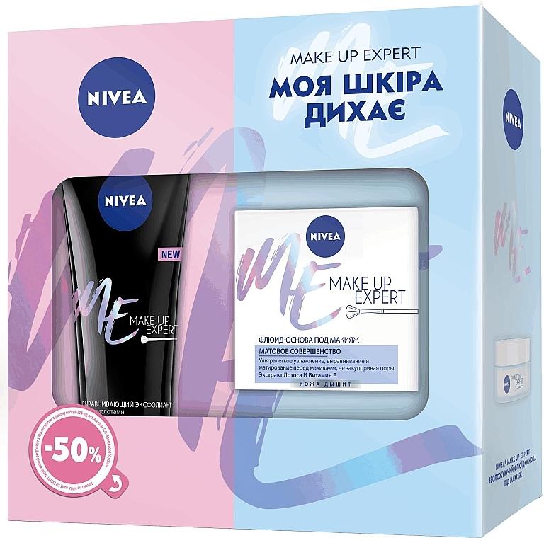 Набор - Nivea Make-Up Expert (gel/125ml + f/cr/50ml)