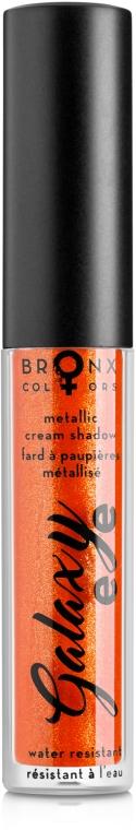 Кремовые тени с эффектом металлик - Bronx Colors Metallic Cream Shadow