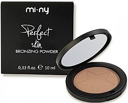 Духи, Парфюмерия, косметика Компактная пудра с бронзирующим эффектом - Mi-Ny Perfect Skin Bronzing Powder