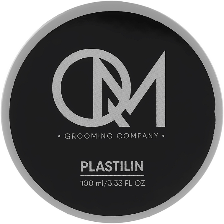 Матовая глина для укладки волос - QM Plastilin