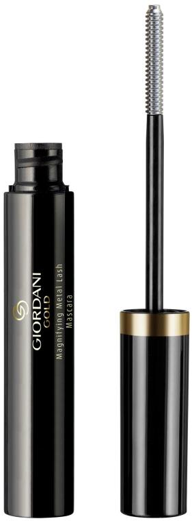 Тушь с эффектом подводки - Oriflame Giordani Gold Magnifying Metal Lash Mascara