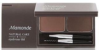 Набор для дизайна бровей - Mamonde Natural Cake Eyebrow Kit — фото N1