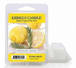 Духи, Парфюмерия, косметика Ароматический воск - Kringle Candle Wax Melt Rosemary Lemon