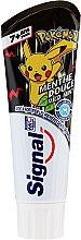 Духи, Парфюмерия, косметика Детская зубная паста, черная - Signal Junior Pokemon Toothpaste