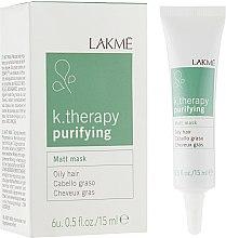 Духи, Парфюмерия, косметика Матирующая маска для жирных волос - Lakme K.Therapy Purifying Matt Mask