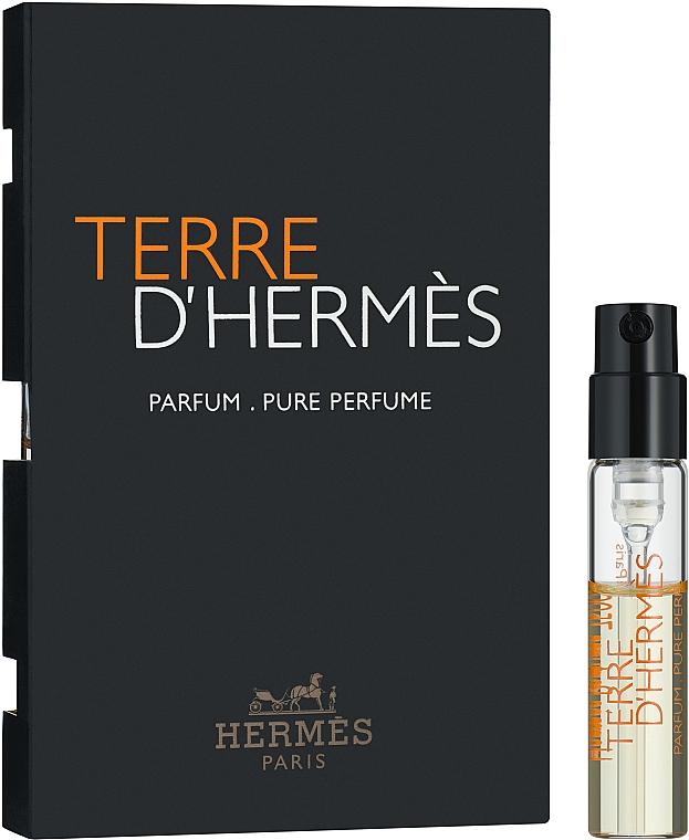 Hermes Terre d'Hermes Parfum - Парфюмированная вода (пробник)