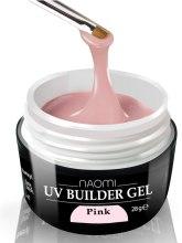 Духи, Парфюмерия, косметика Строительный гель - Naomi UV Builder Gel Pink