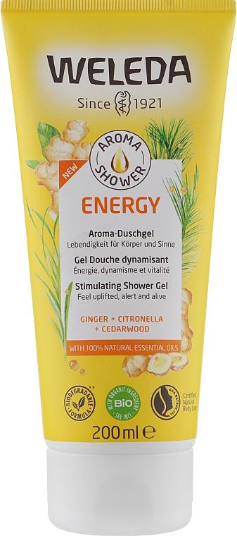 """Гель для душа """"Энергия"""" - Weleda Aroma Energy Stimulating Shower Gel"""