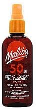 Духи, Парфюмерия, косметика Солнцезащитное сухое масло для тела - Malibu Continuous Dry Oil Spray SPF 50