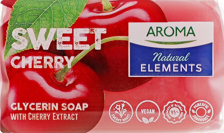 "Туалетное мыло ""Сладкая вишня"" - Aroma Natural Elements Toilet Soap Sweet Cherry"