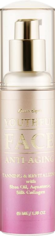 Крем для загара лица в солярии с морскими водорослями и белковым комплексом - Tan Incorporated Youthful Face