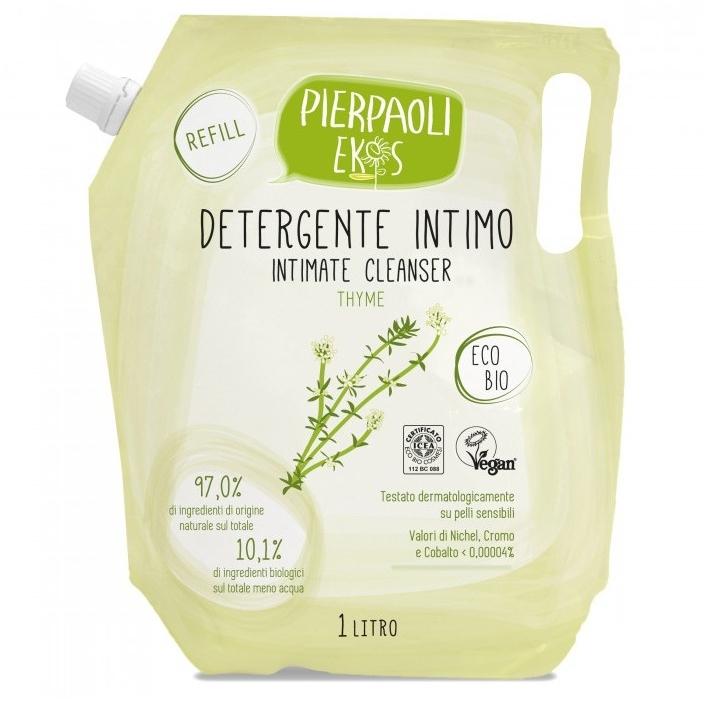 Антибактериальное мыло для интимной гигиены с экстрактом органического тимьяна - Ekos Personal Care Thyme Intimate Cleanser (сменный блок)