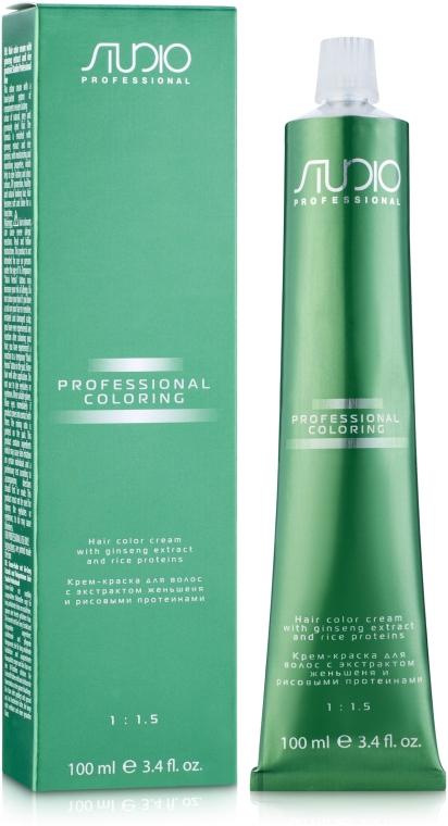 Краска для волос с протеинами риса и женьшеня - Kapous Professional Studio Color Cream