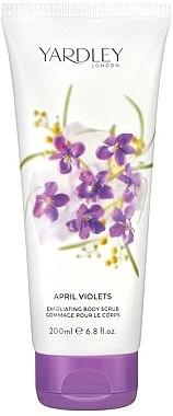ПОДАРОК! Скраб для тела - Yardley English April Violets Body Scrub — фото N1