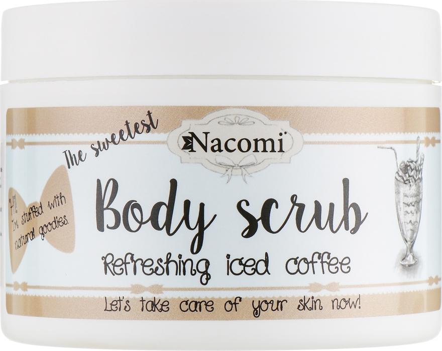 Скраб для тела с маслом ши и кофе - Nacomi Natural Body Scrub Refreshing Iced Cofee