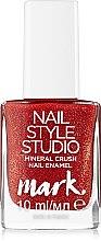 Духи, Парфюмерия, косметика Лак для ногтей - Avon 3D Nail Style Studio Mark Mineral Crush