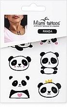 Духи, Парфюмерия, косметика Цветные переводные тату - Miami Tattoos Panda