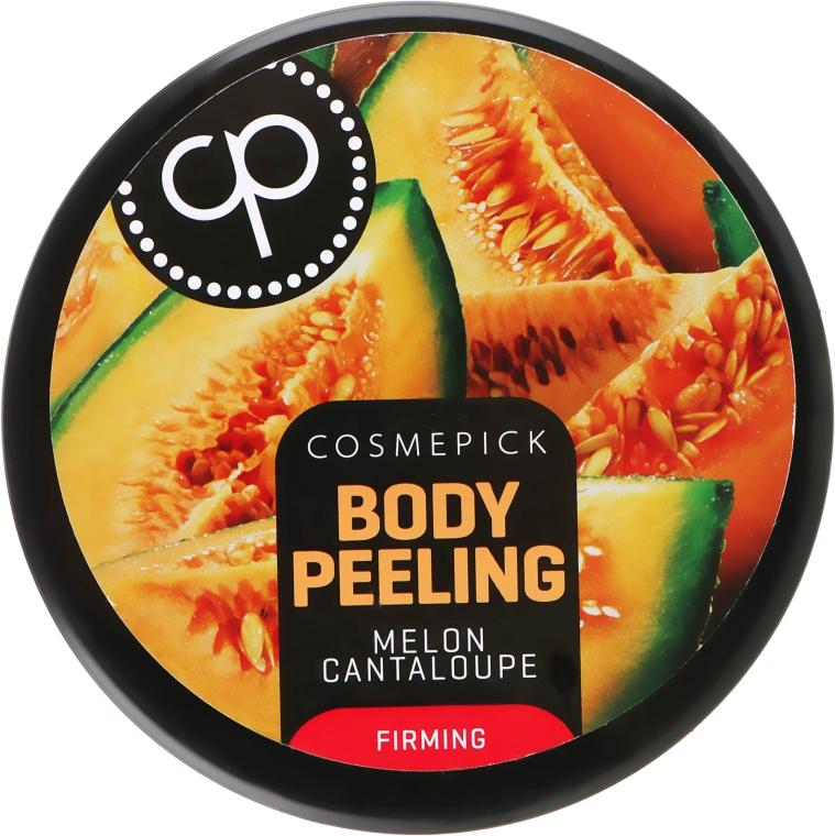 Пилинг для упругости тела с ароматом сочной дыни - Cosmepick Body Peeling Melon Cantaloupe