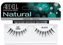 Парфумерія, косметика Накладні вії - Ardell Natural Lashes Demi Black 102